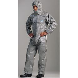 TYCHEM F chemical resistant suit M size
