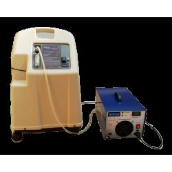 Generatore di ozono 30 g / h, un ozonizzatore a pressione alimentato da ossigeno dal concentratore