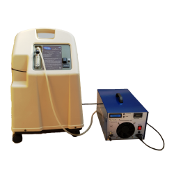 Ozone generator 30g / h, a pressure ozonator fed with oxygen from the concentrator