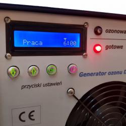 Generatore di ozono 20 g di ozonizzatore DS-20 coronavirus, influenza