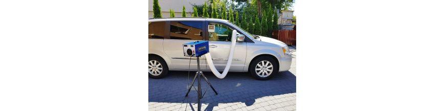 Car generators, ozonator for car air conditioning