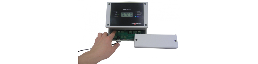 Air ozone concentration controllers